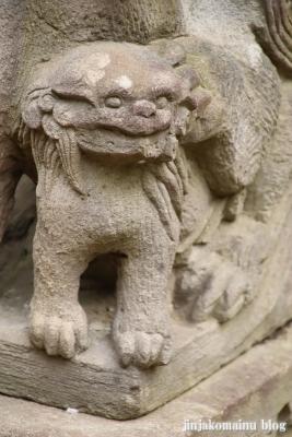 高塚八幡神社(松戸市高塚新田)22