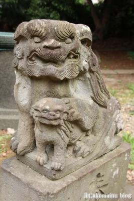 高塚八幡神社(松戸市高塚新田)14