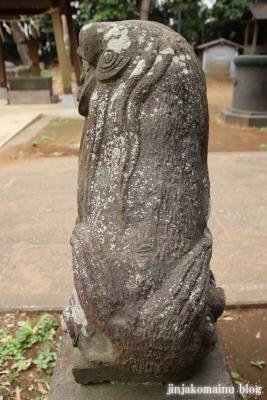 高塚八幡神社(松戸市高塚新田)16