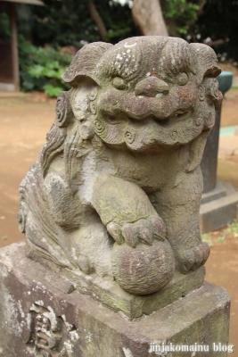 高塚八幡神社(松戸市高塚新田)18