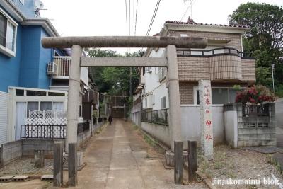春日神社(松戸市秋山)1