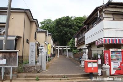 胡録神社(松戸市大橋)1