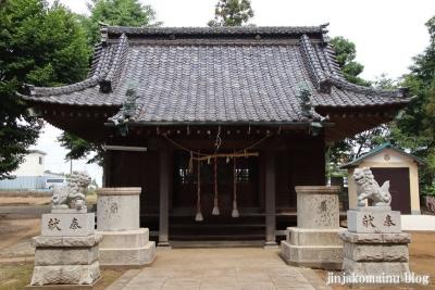 胡録神社(松戸市大橋)8