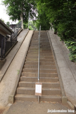 胡録神社(松戸市大橋)6