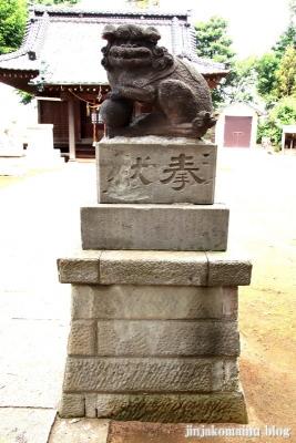 胡録神社(松戸市大橋)14