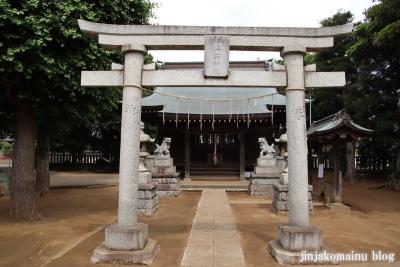 伊弉諾神社(市川市堀之内)5