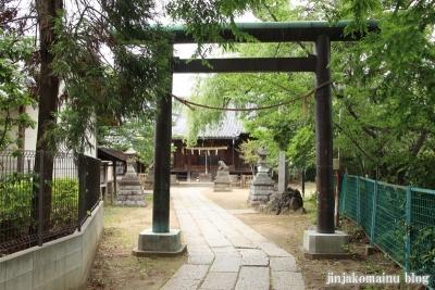 真間稲荷神社(市川市真間)2