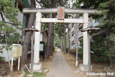 諏訪神社(市川市平田)3