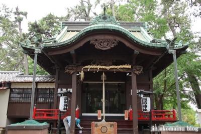 諏訪神社(市川市平田)9