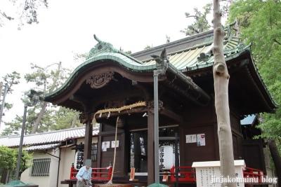 諏訪神社(市川市平田)10