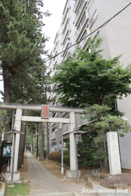 諏訪神社(市川市平田)1