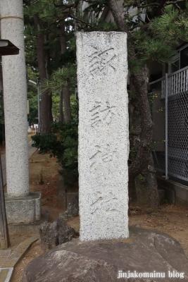 諏訪神社(市川市平田)2