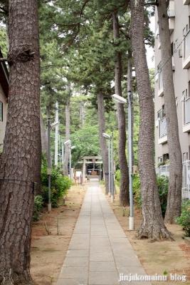 諏訪神社(市川市平田)5