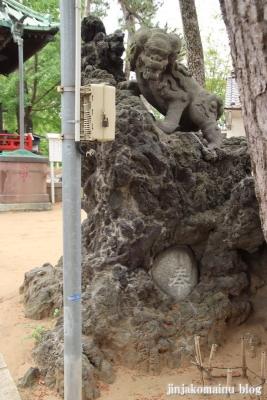 諏訪神社(市川市平田)13