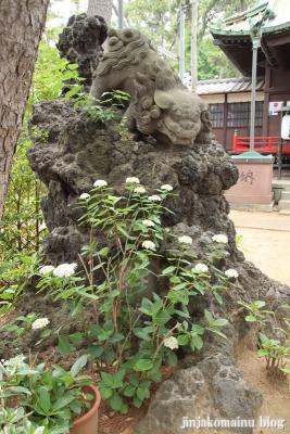 諏訪神社(市川市平田)17