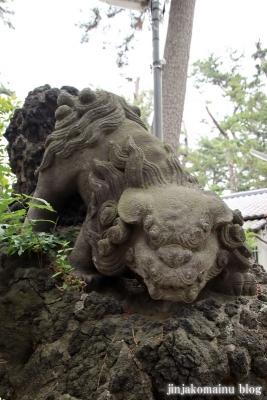 諏訪神社(市川市平田)18