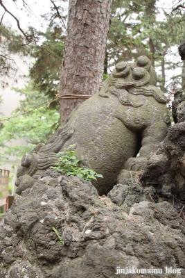 諏訪神社(市川市平田)19