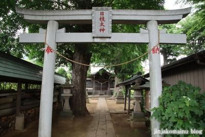 國分日枝神社(市川市国分)6
