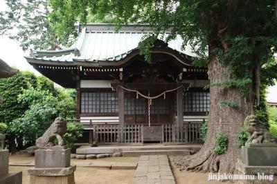 國分日枝神社(市川市国分)9