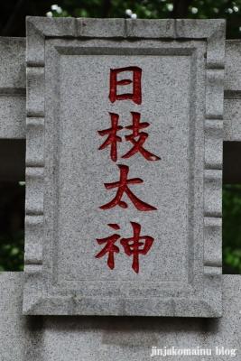 國分日枝神社(市川市国分)7