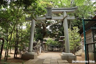白幡神社(市川市宮久保)1