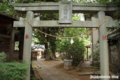 白幡神社(市川市宮久保)46