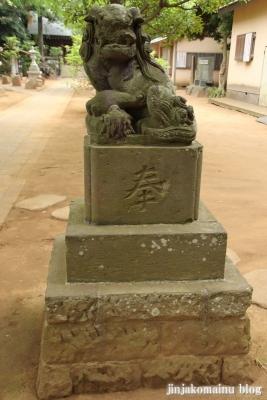 白幡神社(市川市宮久保)7