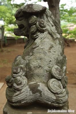 白幡神社(市川市宮久保)10