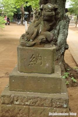 白幡神社(市川市宮久保)11