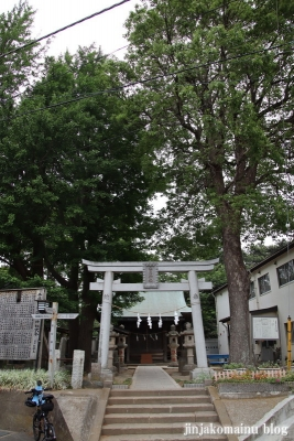 安房神社(市川市中山)1
