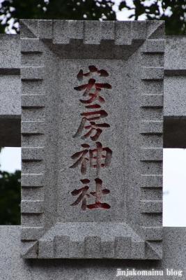 安房神社(市川市中山)3