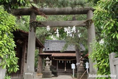神明社(市川市鬼越)2