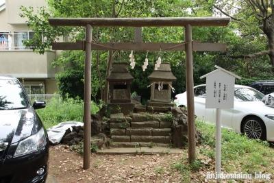 神明社(市川市鬼越)12
