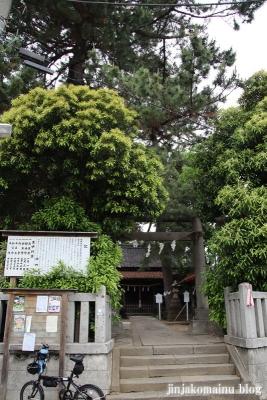 神明社(市川市鬼越)1