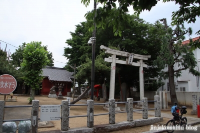 十二社神社(市川市八幡)1