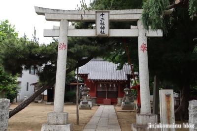 十二社神社(市川市八幡)2