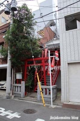袖摺稲荷神社(台東区浅草)1