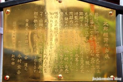 西町太郎稲荷神社(台東区東上野)4