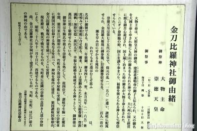 竹町金刀比羅神社(台東区台東)7