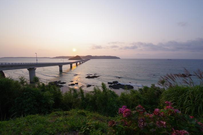 黄昏角島①