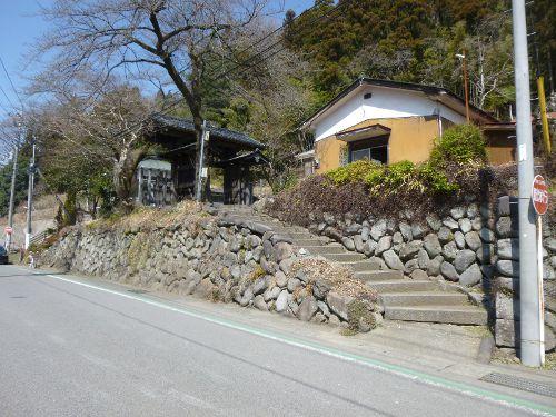 碓氷関所跡に接近(1)