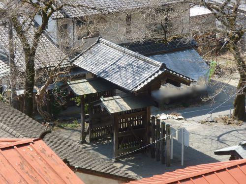 碓氷関所跡内部側(5)