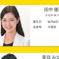 田中優奈アナ