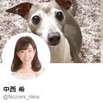 中西 希(@Nozomi_nkns)