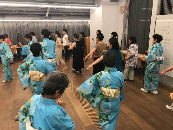 雷門盆踊り練習会場