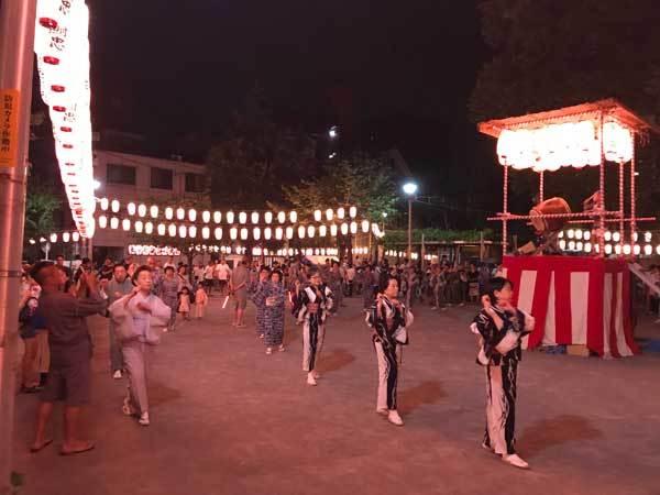 七ヶ町会盆踊り