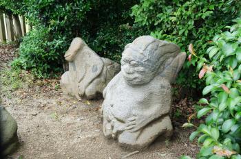 飛鳥 猿石