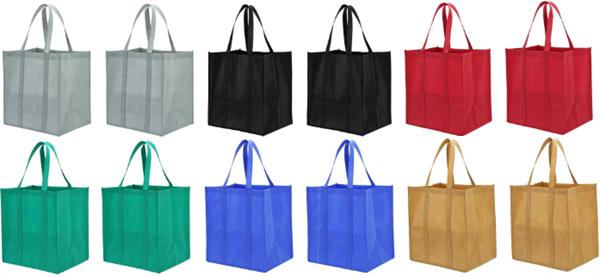 Laweiの長持ち買い物袋の12パック