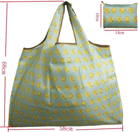 feifeibujiabingの持ち運びが楽な買い物袋