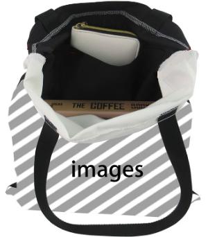 FUIBENGの長持ち買い物袋の内ポケット